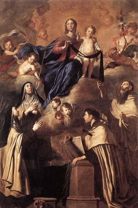 Pietro Novelli Our Lady of Mount Carmel